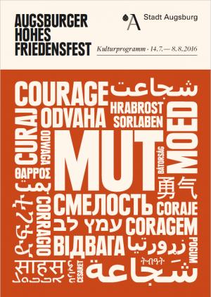 Programmheft zum Friedensfest 2016