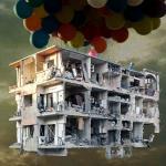 (c) Artworks courtesy Galerie Kornfeld/ Tammam Azzam - Damascus Fotomontage 120x100 cm